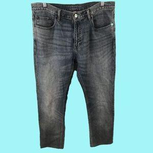 Banana Republic Mens Straight Jeans 34x32